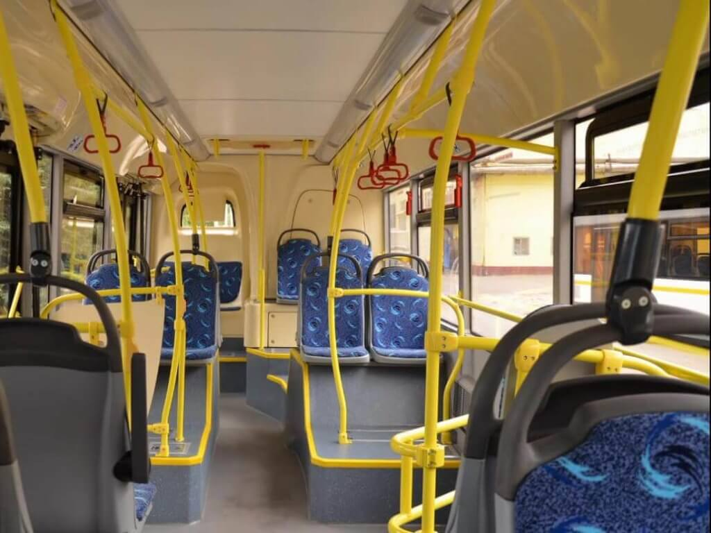Салон автобуса ЛиАЗ 5292-60