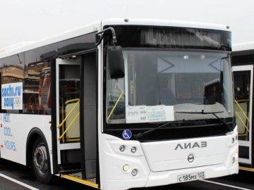 Российский автобус ЛиАЗ