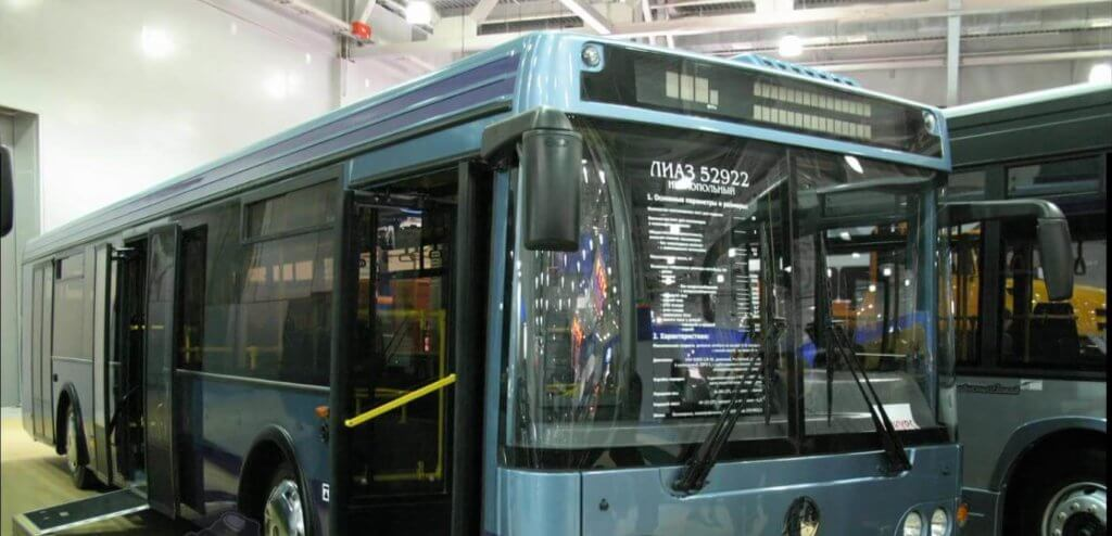 Российский автобус ЛиАЗ 529260