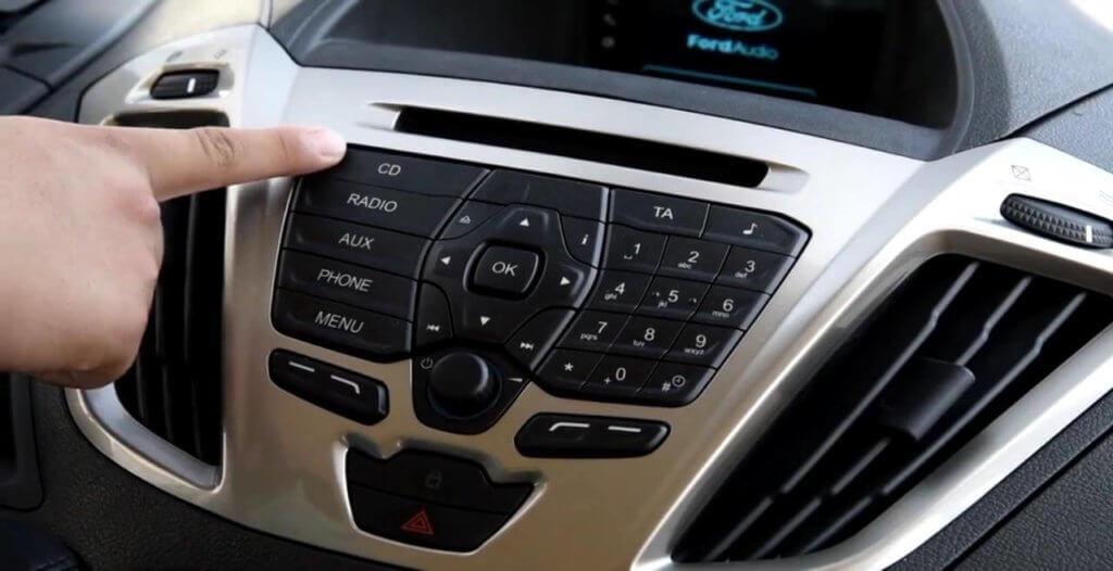 Передняя консоль Форд Торнео Кастом