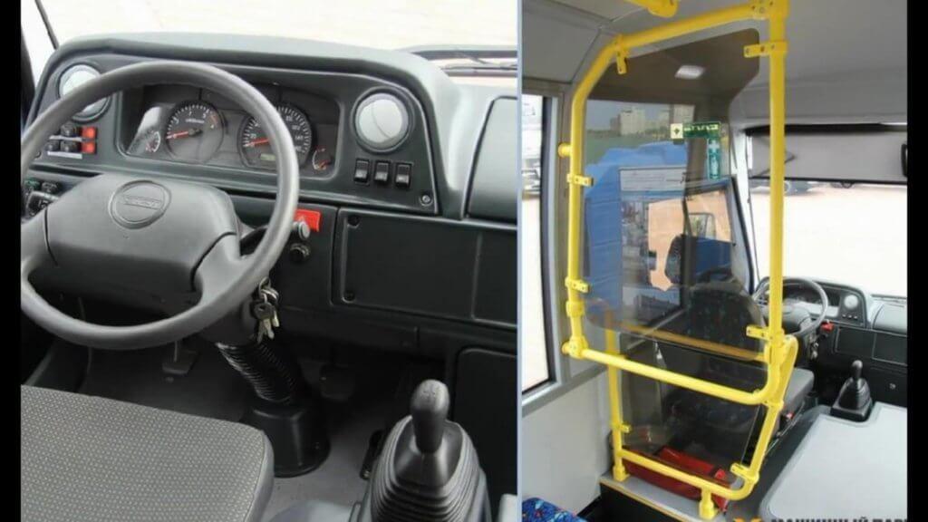 Руль и приборная панель Vector-3