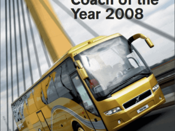 volvo 9700 coach of 2008 year